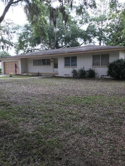 Belleview Single Family Home Pending: 5207 SE 106th Ln