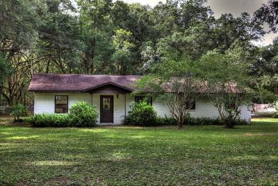 Ocala Single Family Home For Sale: 1110 SW 107th Pl