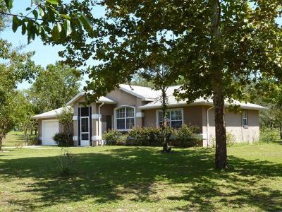Williston Single Family Home For Sale: 451 SE 140th Avenue