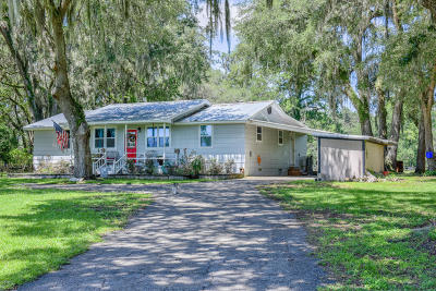 Reddick Single Family Home For Sale: 15700 NW 112th Avenue