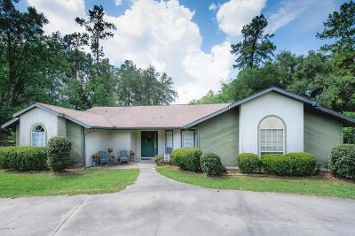 Williston Single Family Home For Sale: 602 NE 10th Boulevard