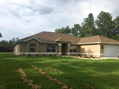 Ocala Single Family Home For Sale: 13571 SW 73rd Street