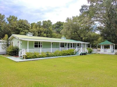 Dunnellon Single Family Home For Sale: 12600 SW Highway 484