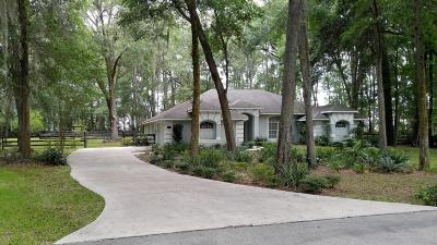 Marion County Single Family Home For Sale: 2049 NW 111th Loop