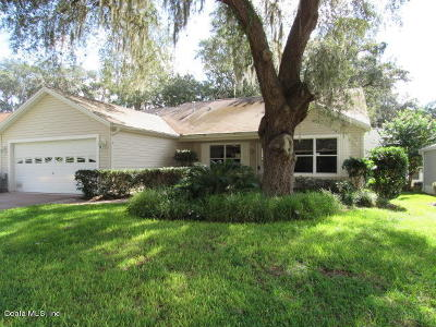 The Villages Single Family Home For Sale: 17131 SE 94th Berrien Court
