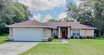 Dunnellon Single Family Home For Sale: 17768 SW 36th Loop