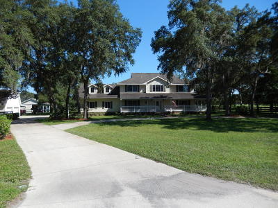 Ocala Single Family Home For Sale: 5288 SW 85th Street