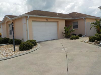 The Villages Condo/Townhouse For Sale: 406 Calzada Court