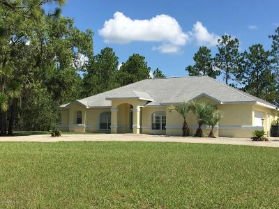 Levy County Single Family Home For Sale: 130 NE 131st