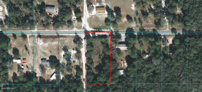 Dunnellon Residential Lots & Land For Sale: SW 155 Street