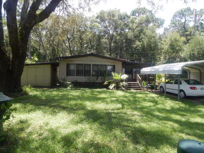 Levy County Single Family Home For Sale: 17250 NE 40 Street
