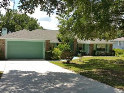 Dunnellon Single Family Home For Sale: 8955 SW 196th Terrace Road