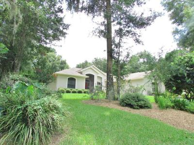 Dunnellon Single Family Home For Sale: 19203 SW 98 Loop