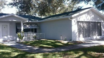 Spruce Creek So Single Family Home For Sale: 17699 SE 108th Avenue