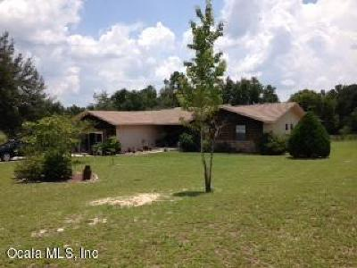 Dunnellon Single Family Home For Sale: 23988 SW Lakeland Heights Ave