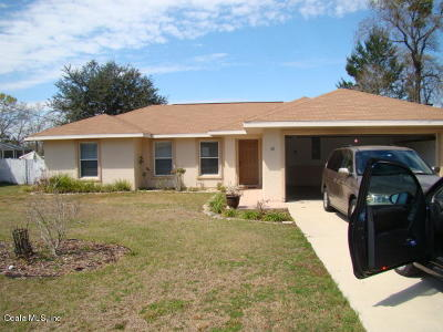 Ocala Single Family Home For Sale: 42 Hemlock Rad Cir