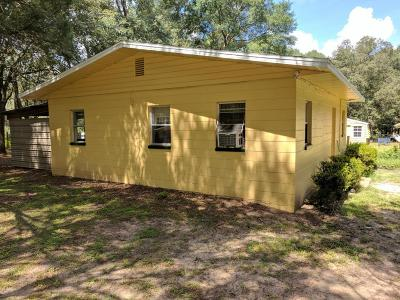 Dunnellon Single Family Home For Sale: 2620 SW 189th Avenue