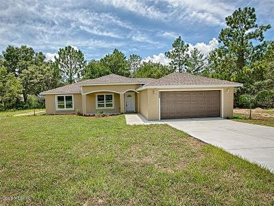 Summerfield Single Family Home For Sale: 8898 SE 158th Place