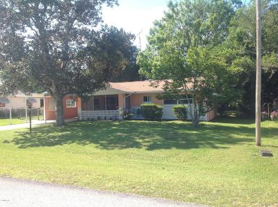Dunnellon Single Family Home For Sale: 21640 SW Raintree Street