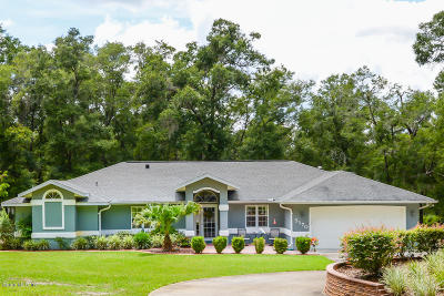 Ocala Single Family Home For Sale: 5170 SW 128th Avenue