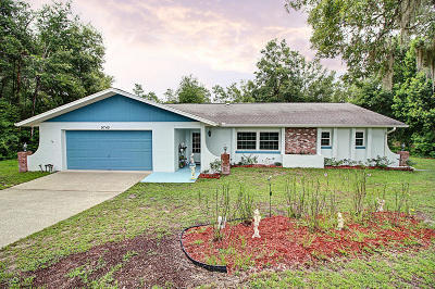 Dunnellon Single Family Home For Sale: 9745 SW 200th Court