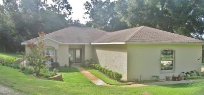 Dunnellon Single Family Home For Sale: 19968 SW 97 Place