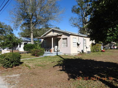 Eustis Single Family Home For Sale: 415 Cardinal Street