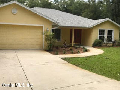 Dunnellon Single Family Home For Sale: 10238 N Natchez Loop