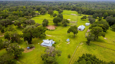 Micanopy Farm For Sale: 10091 NW Highway 320