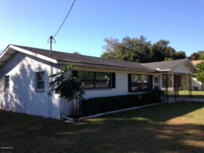 Dunnellon Single Family Home For Sale: 21218 SW Honeysuckle St