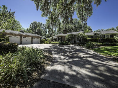 Ocala Single Family Home For Sale: 2334 E Fort King Street