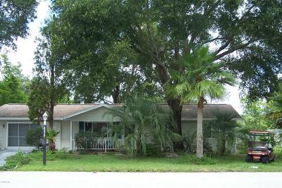 Ocala FL Single Family Home For Sale: $98,300
