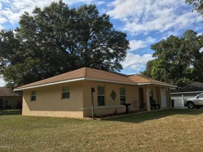 Belleview Single Family Home For Sale: 5350 SE 102nd Place