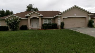 Ocala Single Family Home For Sale: 6816 SW 130 Lane