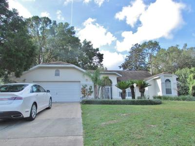 Dunnellon Single Family Home For Sale: 8963 SW 191st Circle