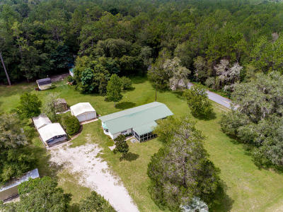 Dunnellon Single Family Home For Sale: 18350 SW 31st Street