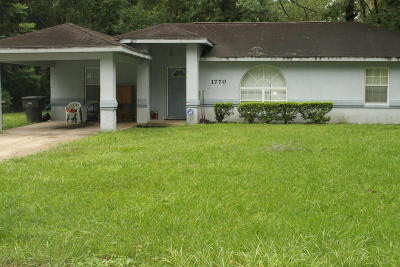 Ocala Single Family Home For Sale: 1770 NE 13th Street