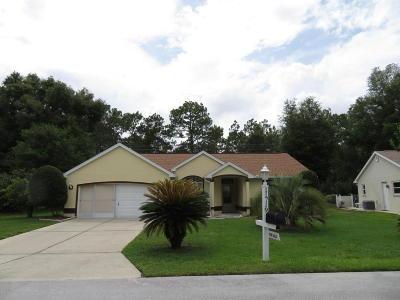 Ocala FL Single Family Home For Sale: $143,450