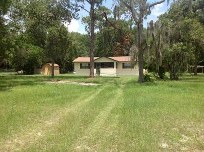 Crystal River Single Family Home For Sale: 2565 N Reynolds Avenue