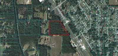 Belleview Residential Lots & Land For Sale: 8181 S Hwy 441/27