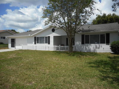 Ocala Single Family Home For Sale: 11461 SW 84th Court Road