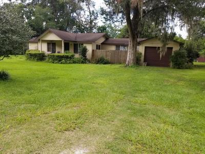 Ocala Single Family Home For Sale: 1306 NE 53rd Street