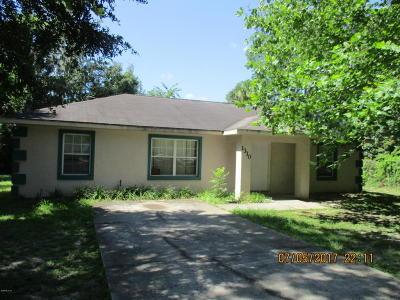 Ocala Single Family Home For Sale: 1310 SW 3rd Street