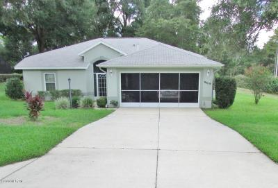 Dunnellon Single Family Home For Sale: 9819 SW 198 Circle