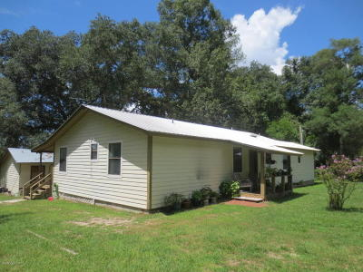 Marion County Single Family Home For Sale: 17510 NE 61 Street Road
