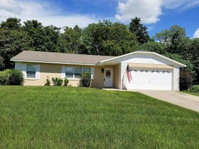 Belleview FL Single Family Home For Sale: $139,000