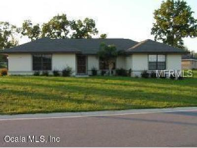 Ocala Single Family Home For Sale: 1138 SE 65th Cir