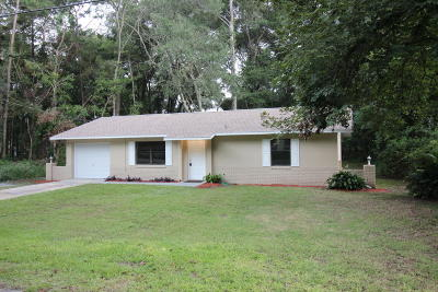 Ocala Single Family Home For Sale: 6342 NW 61st Avenue