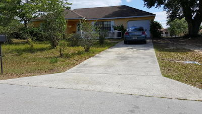 Ocala Single Family Home For Sale: 48 Palm Road