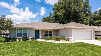 Dunnellon Single Family Home For Sale: 13629 SW 101st Street